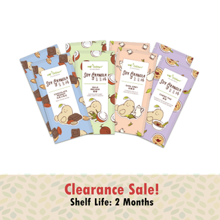 Clearance Offer - Assorted Local Flavour Granola Bar @ $10.80 (PWP Special)
