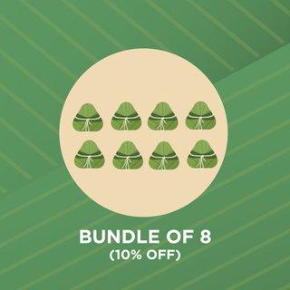 (10% OFF) (Bundle of 8) Rice Dumpling