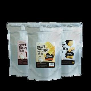 Crispy Soy Skin - 3 Packs Bundle