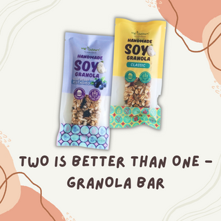 Two Is Better than One (Granola Bar) - 10% OFF