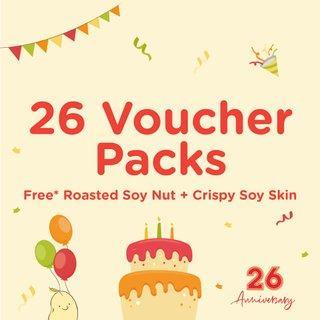Bundle of 26 Voucher Packs