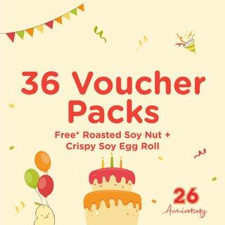 Bundle of 36 Voucher Packs